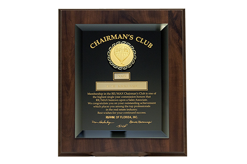 Award winning REMAX real estate agents in Destin Florida - Chairman's Club