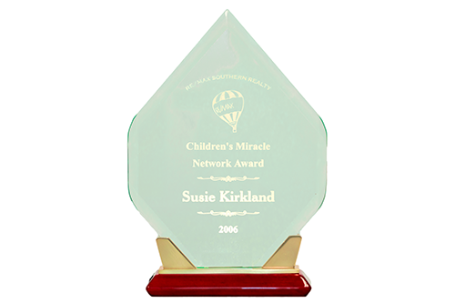 REMAX Southern Realty Children's Miracle Network award